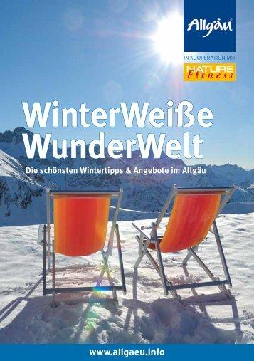 WinterWeiße WunderWelt - Allgäu