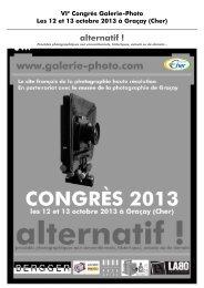 Télécharger le programme complet ici - Galerie-photo.com
