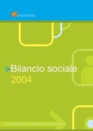 Bilancio sociale 2004