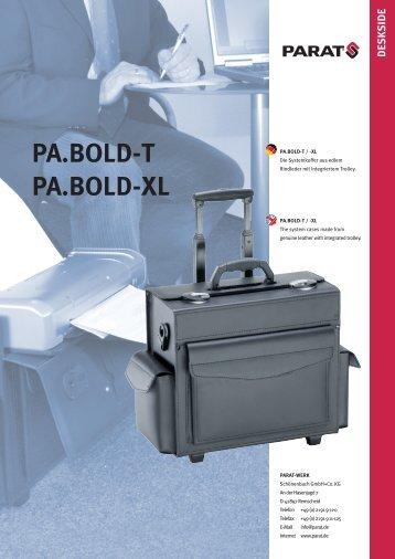 PA.BOLD-T / PA.BOLD-XL