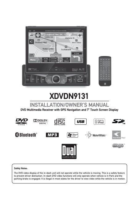 Dual Xdvdn9131 Wiring Diagram Uniden Alarm Wiring Diagram ... on