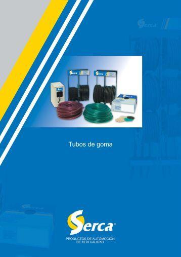 Catálogo Tubos de goma Serca