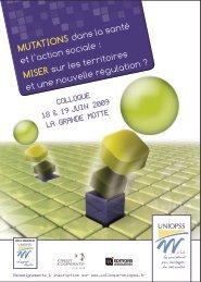 Mutations dans la santé et l'action sociale : Miser sur les ... - Uniopss