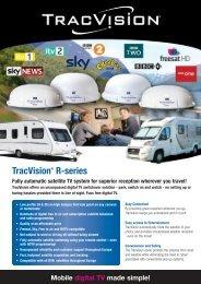 Tracvision R Series Brochure - Mantsbrite Systems Ltd