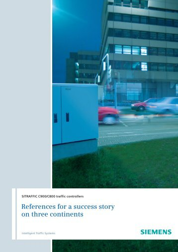 References for a success story on three continents - Industry