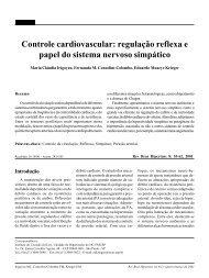 Controle cardiovascular: regulação reflexa e papel do sistema ...