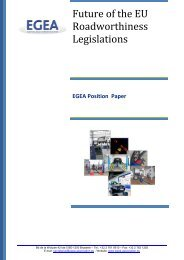 EGEA Position Paper on Revision of Directive 96/96/EC - Aftersales ...