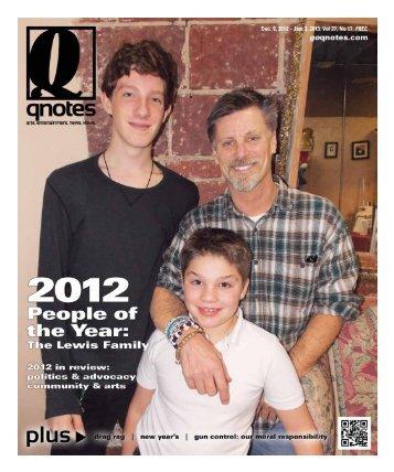 Dec. 22 . 2012 - Jan. 3 . 2013 qnotes 1