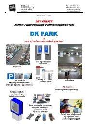 Parkeringsanlæg - DKC