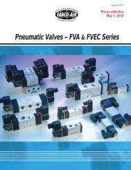 Pneumatic Valves – FVA & FVEC Series - Fabco-Air, Inc.