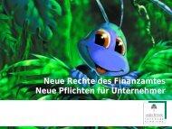 Vortrag über Abgabenordnung - Hellberg EDV-Beratung