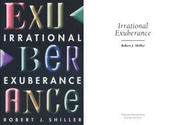 Irrational Exuberance 3rd Edition Pdf