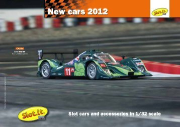 New cars 2012 - SLOT.IT