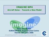 Aircraft Noise Modelling with Imagine - Aeronautics Days 2006