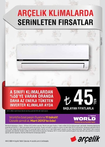 45 - Arçelik