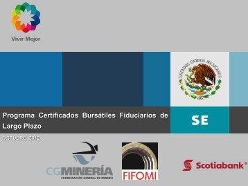 Presentación oct/2012 - fifomi