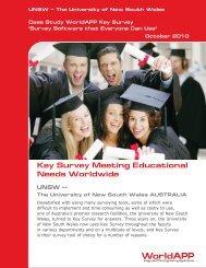 The University of New South Wales - WorldAPP