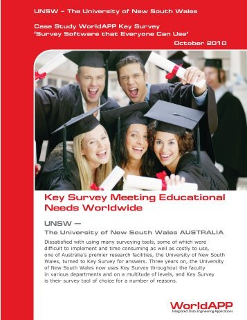 The University of New South Wales - WorldAPP