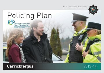 Carrickfergus Policing Plan 2013 / 14