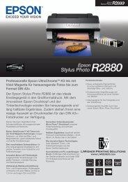 Professionelle Epson UltraChromeTM K3 Ink mit Vivid Magenta für ...
