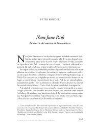 Nam June Paik - Anales del Instituto de Investigaciones Estéticas