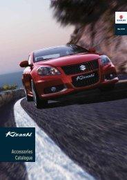Accessories Catalogue - Suzuki