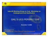 GAIL'S UCG PERSPECTIVE - Office of Fossil Energy