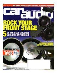 T600-2 Review CAE. - Rockford Fosgate