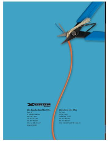 Xuron® Industrial Products Catalog