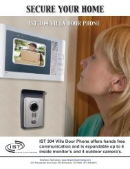 SECURE YOUR HOME - Intrasonic Technology