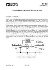 MT-055: Chopper Stabilized (Auto-Zero) Precision ... - Analog Devices
