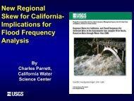 New Regional Skew for California - Floodplain Management ...