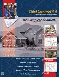 Chief Architect 9.5 - TechEdu.com