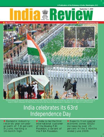 India celebrates its 63rd Independence Day - Embassy of India
