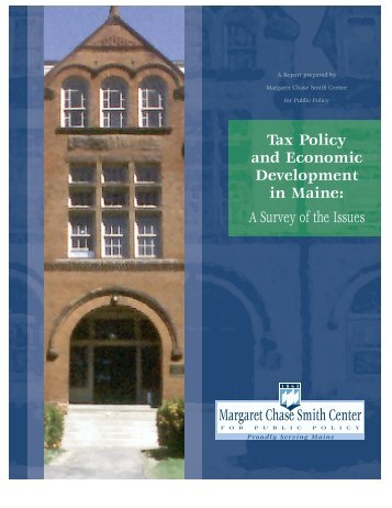 MurrayFinal08-02 (PDF) - Margaret Chase Smith Policy Center ...