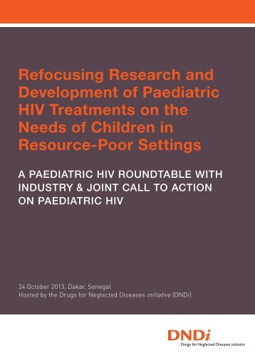 DNDi_Paediatric_HIV_roundtable