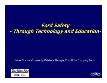 Presentation - Governors Highway Safety Association