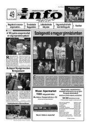 Szalagavató a magyar gimnáziumban - Kárpátinfo.net