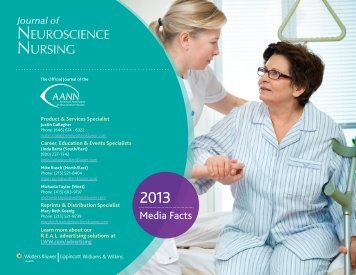 Media Kit - American Association of Neuroscience Nurses