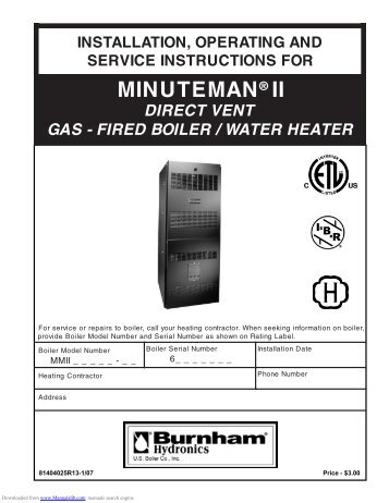 burnham minuteman ii wiring diagram burnham wiring diagrams cars burnham vent damper wiring diagram nilza net