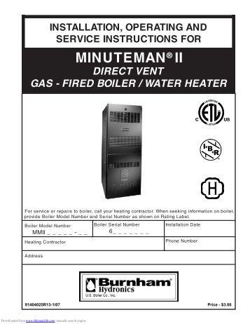 burnham minuteman ii wiring diagram burnham diy wiring diagrams burnham independence boiler mountain moonshine description burnham minuteman ii installation operation manual