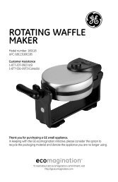 roTaTing waFFLe maker - GE :: Housewares