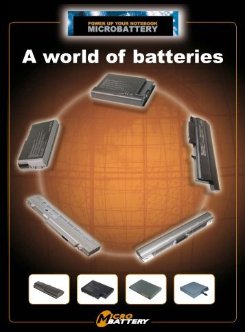 A world of batteries