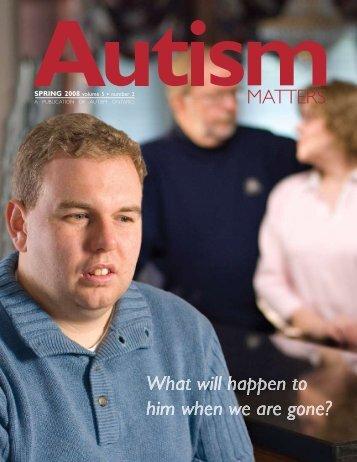 Spring 2008 - Autism Ontario