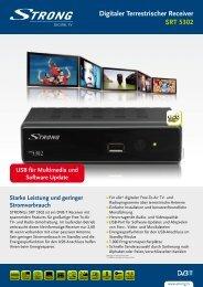 Digitaler Terrestrischer Receiver SRT 5302 - TELE-SONNTAG
