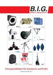Fotospezialitäten für Amateure und Profis - B.I.G.