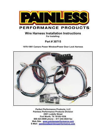 wire harness plug porsche 911 mopar 5.7 hemi wiring harness street & performance wire harness instruction
