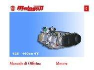 M0045 Blog 125-160 Motore - Malaguti