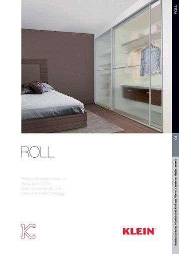 04 roll Sistema de puertas correderas Sliding doors system Sistema ...