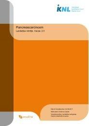 Richtlijn: Pancreascarcinoom - Agora landelijk ondersteuningspunt ...